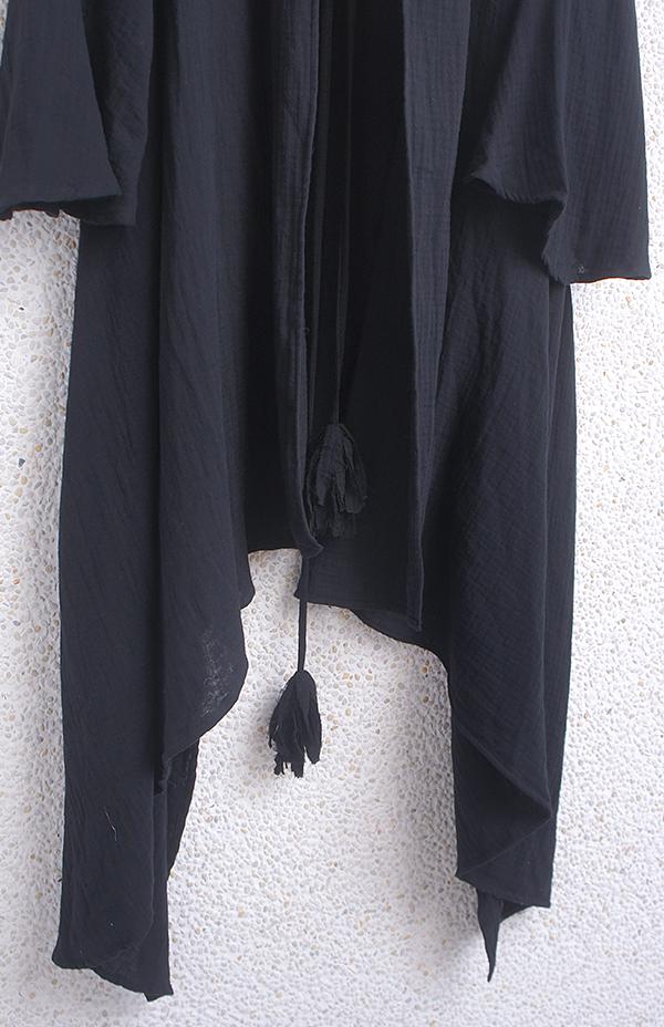 水袖流蘇長罩外套 6